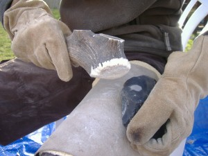 Flintknapping stages (9)