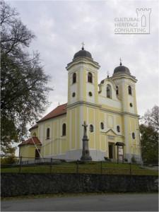 Skalka nad Vahom - kostol