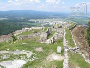 Zvolen - Pusty hrad, Horny hrad
